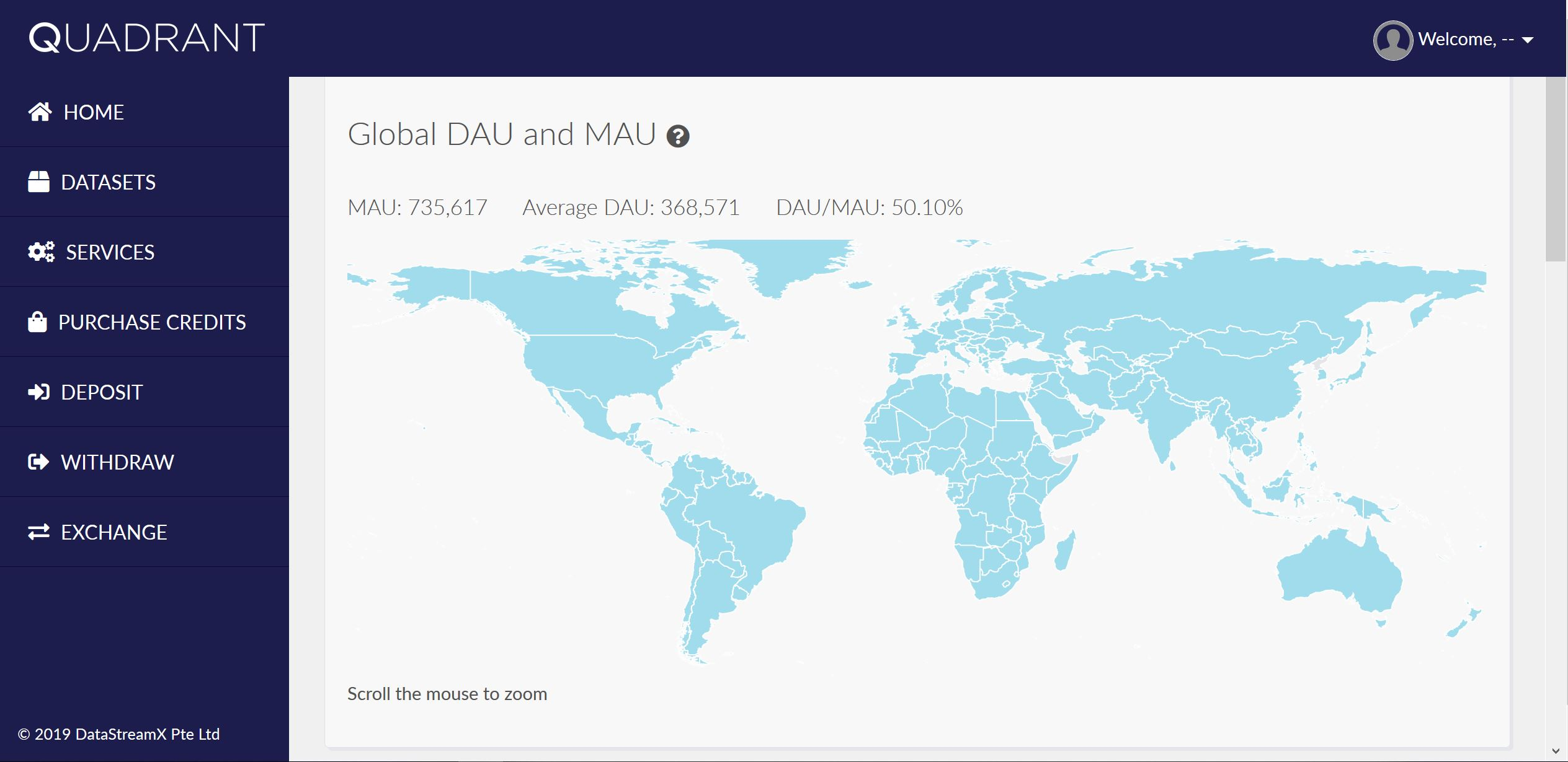 Data Quality Dashboard - Global MAU and DAU